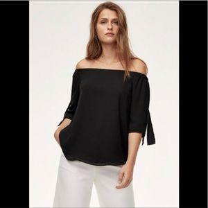 Babaton Off the Shoulder Blouse- Size M